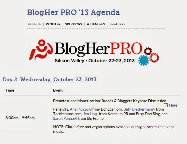 BlogHerPRO2013Agenda