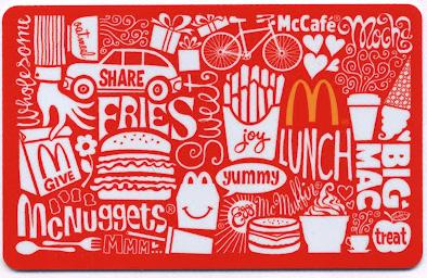McDonalds-Card