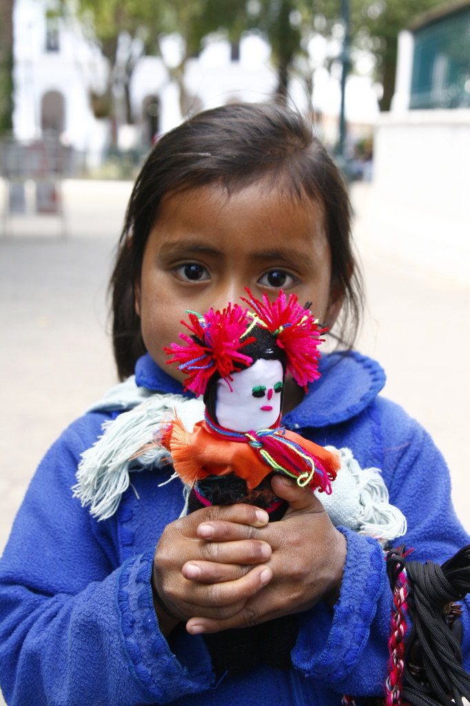 A Small Child From A Local Indigenous Tribe, Mexico